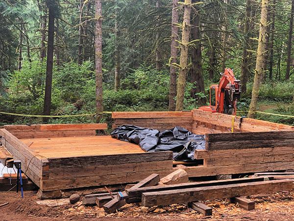 Molalla Log Cabin